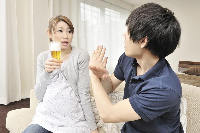 妊婦のアルコール摂取はNG