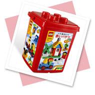 レゴ基本セット 赤いバケツ (LEGO)