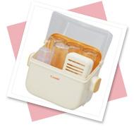 哺乳瓶消毒ケース(電子レンジ用)